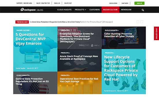 Official Rackspace Blog